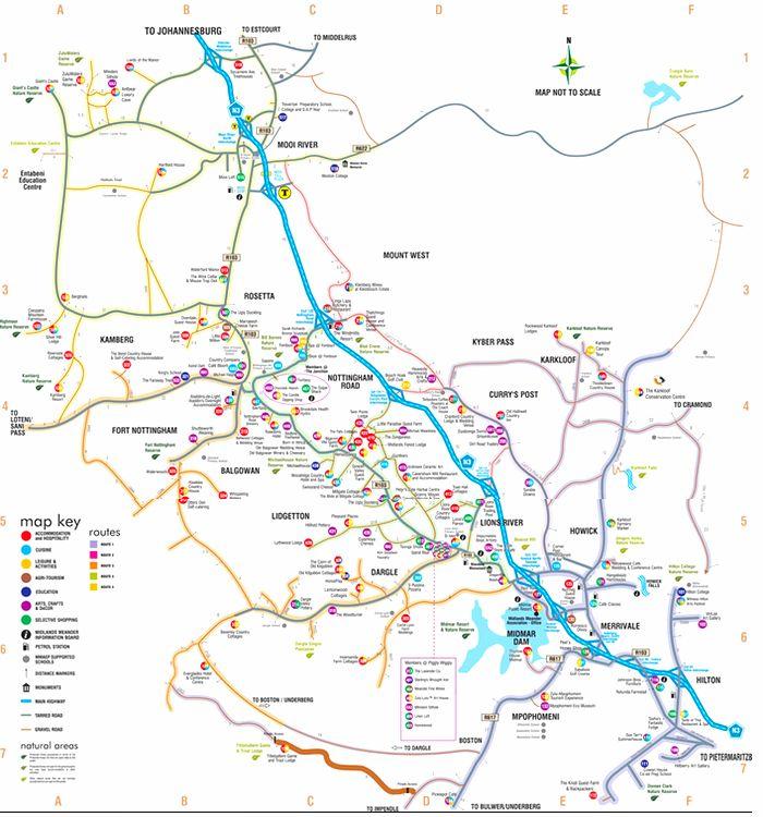 Midlands Map